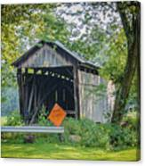 Barkhurst Covered Bridge  Canvas Print