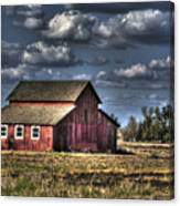 Barn After Storm Canvas Print