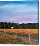 Barn At Beaver Dam Canvas Print