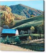 Barn At Blowing Rock Canvas Print
