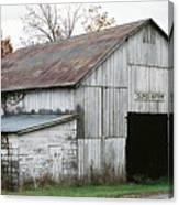 Barn At Clover Bottom Canvas Print
