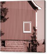 Barn Detail Canvas Print