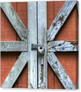 Barn Door 1 Canvas Print