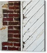 Barn Door Abstract Canvas Print