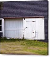 Barn Doors Canvas Print