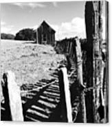 Barn Fence Canvas Print