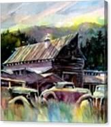 Barn Fresh Cabriolets Canvas Print