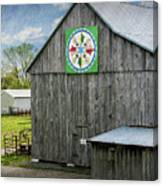 Barn Hex Sign Canvas Print