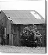 Barn In Kentucky No 58 Canvas Print