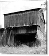 Barn In Kentucky No 79 Canvas Print