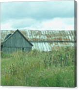 Barn In Softness Of Nature Canvas Print