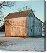 Barn Late Afternoon Canvas Print