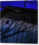 Barn Shadows Canvas Print