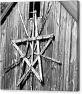 Barn Star Canvas Print