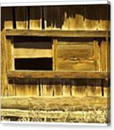 Barn Window Canvas Print