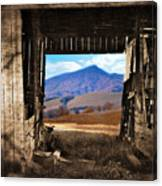 Barn With A View Canvas Print