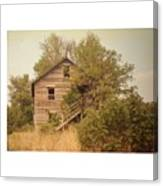 Barn Wood Homestead Canvas Print