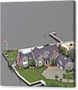Barnegat Bay House Bay Head New Jersey Canvas Print