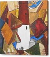 barnegat lighthouse I Canvas Print