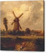 Barnes Common Canvas Print