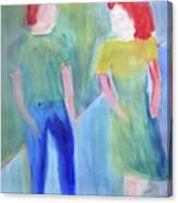 Barney And Elizabeth Canvas Print
