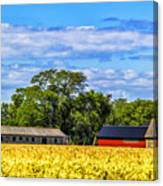 Barns In The Distance Canvas Print