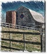 Barnscape Canvas Print