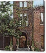 Barnsley Garden Ruins Canvas Print