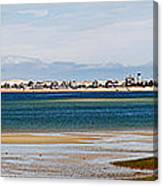 Barnstable Harbor Panorama Canvas Print