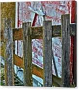 Barnyard Gate Canvas Print