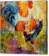 Barnyard Shuffle Canvas Print
