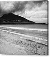 Barnynagappul Strand On The Wild Atlantic Way Coastal Route Doogort Achill Island County Mayo Irelan Canvas Print