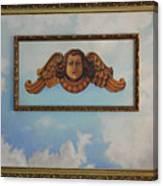 Baroque Angel Canvas Print