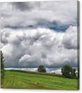 Barre Clouds 2181 Canvas Print
