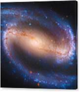 Barred Spiral Galaxy Ndc 1300 Canvas Print