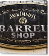 Barrel Shop Canvas Print