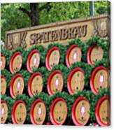 Barrels Canvas Print