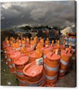 Barrels O'dab Canvas Print