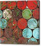 Barrels - Play Of Colors Canvas Print