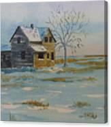 Barren Prairie Canvas Print