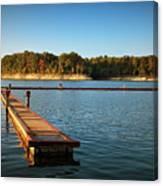 Barren River Lake Dock Canvas Print