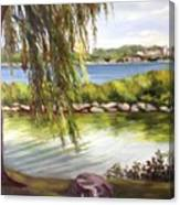 Barrie Waterfront Canvas Print