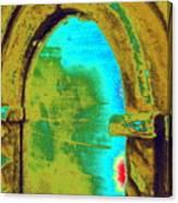 Barrie's New Door Canvas Print