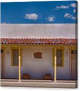 Barrio Viejo Symmetry Canvas Print