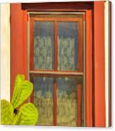 Barrio Window Canvas Print