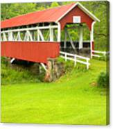 Barron's Covered Bridge Canvas Print