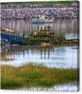 Barry Island Wrecks 3 Canvas Print