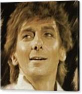 Barry Manilow, Music Legend Canvas Print