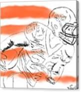 Barry Sanders Jr Canvas Print