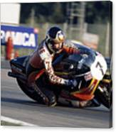 Barry Sheene. 1978 Nations Motorcycle Grand Prix Canvas Print